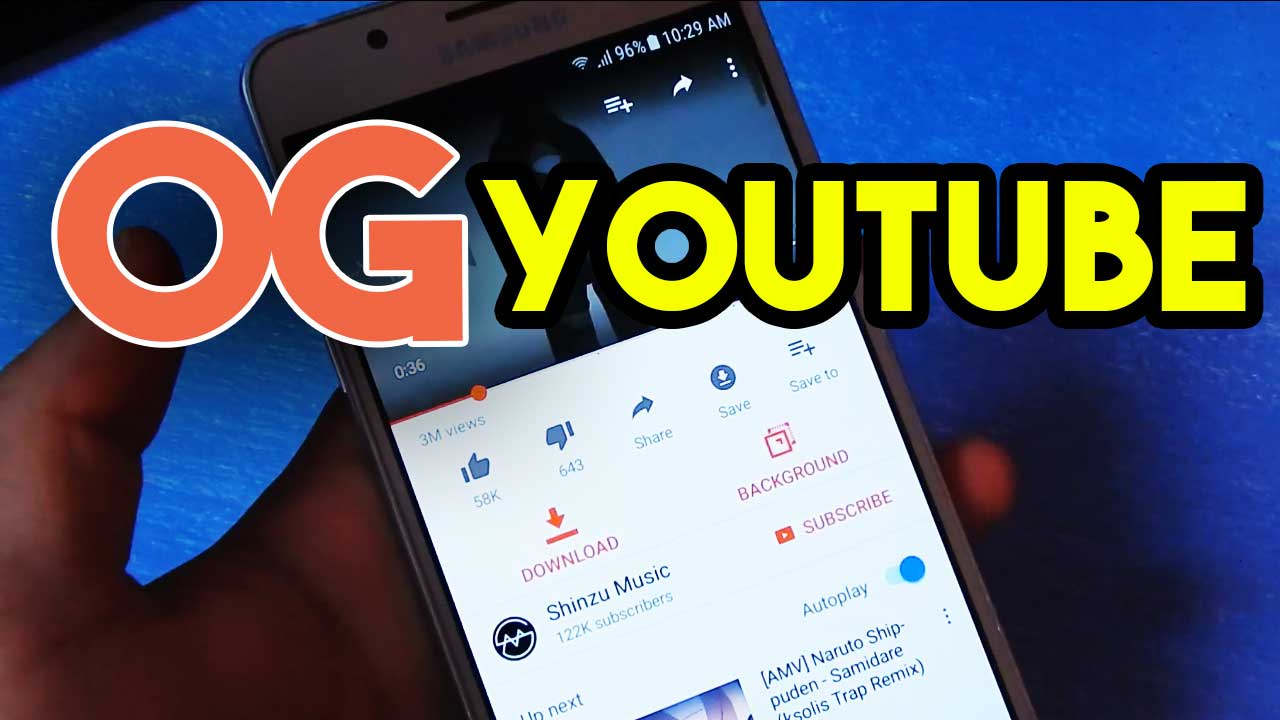 Download OGYoutube APK MOD Latest version for free
