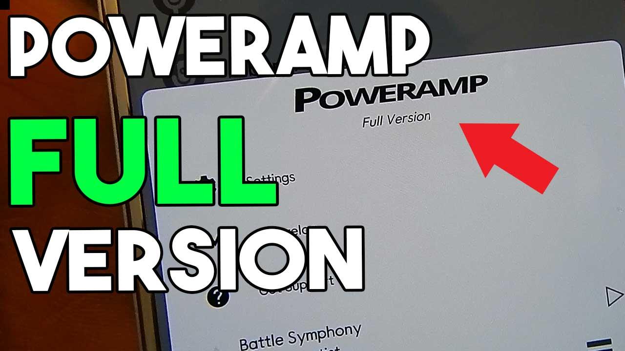 Poweramp Full Version For free 2018